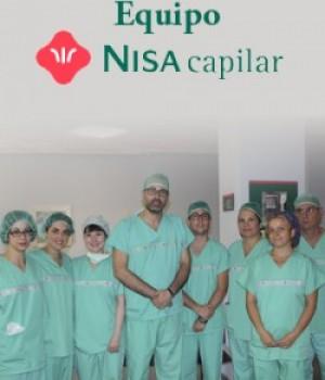 Equipo de especialistas de Nisa Capilar